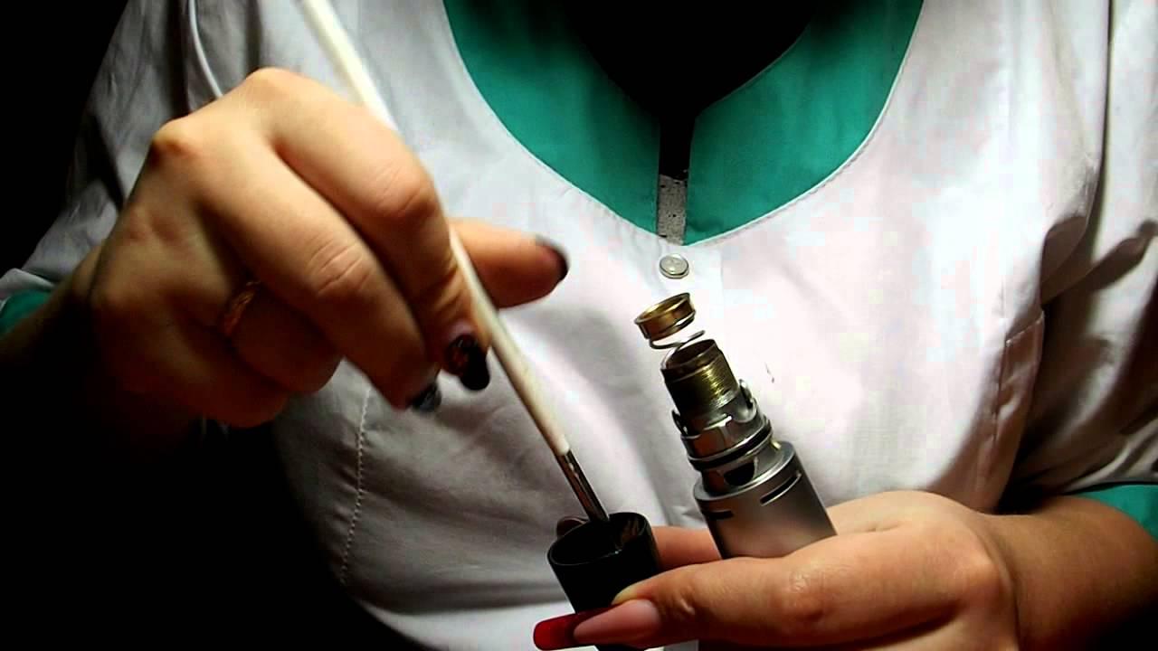 чистка ручки маникюрной машинки - YouTube