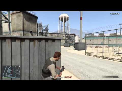 GTA 5 - Prison Break Heist - Prison Officer