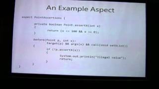 Aspect Oriented Programming (Part 3/4)