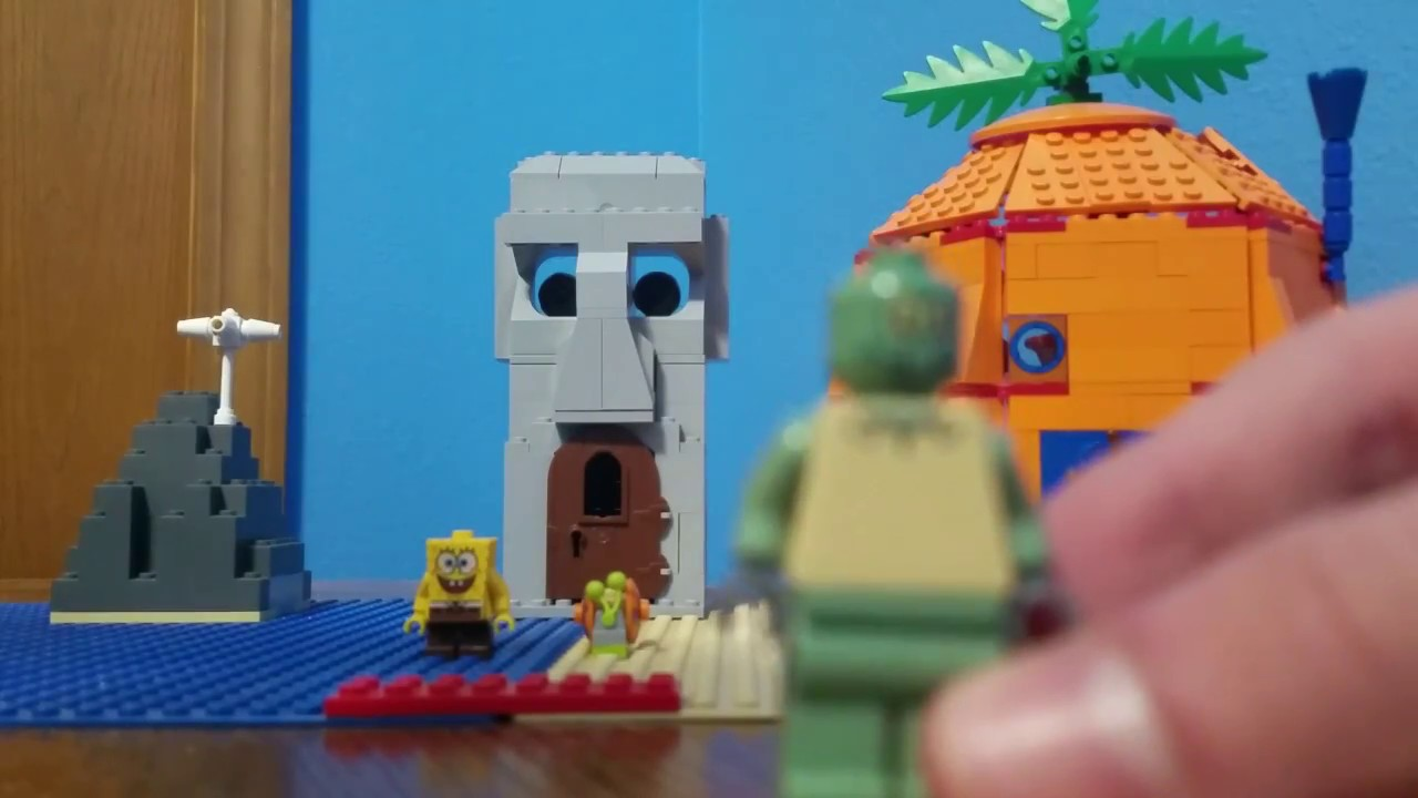 Lego Spongebob Adventures In Bikini Bottom Set Review