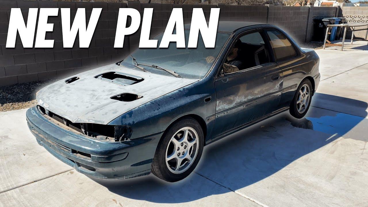 The GC8 Subaru Impreza Project is Back