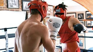 Sparring Day with Jake & Logan Paul | Maverick House Chauffeur | Vlog