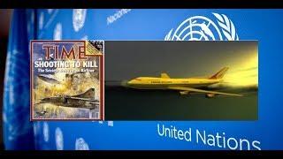Истрия ООН • Катастрофа 1 сентября 1983 года вызвала обострение отношений между СССР и США.