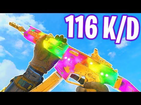 GKS is UNDERRATED.. (116 K/D GAMEPLAY!) - COD BO4