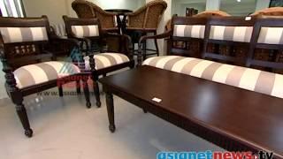 Wooden Sofa Set  :dream Home 21st Nov  2013 Part 2 ഡ്രീം ഹോം