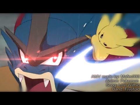 Pikachu vs Mega Gyarados (Ash vs Misty) - Pokemon Full AMV HD
