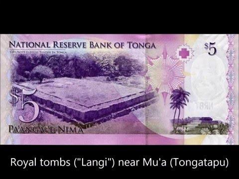 BANKNOTES TONGA  2008-2009 KING SIAOSI GEORGE TUPOU V ISSUE