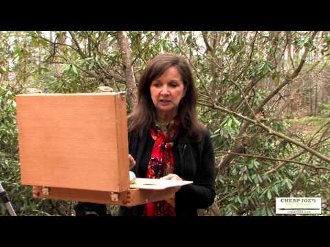 Plein Air Oil Painting With Kim Abernethy - Materials (Part2)