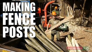 Making Fence Posts