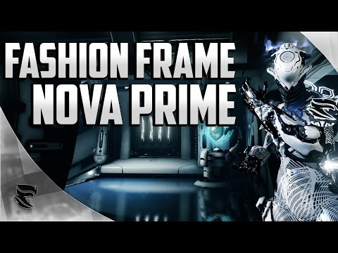 Warframe: Nova Prime Fashion Frame