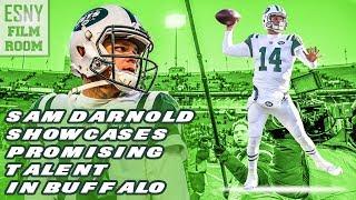 New York Jets QB Sam Darnold Showcases Promising Talent In Buffalo (FILM ROOM)
