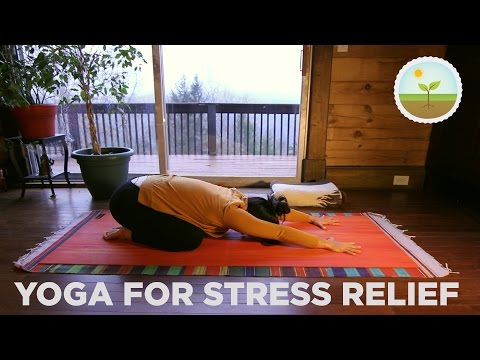 Yoga for Stress Relief - Mindful Breathing, Calming Poses & Gentle Movement