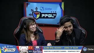 Kimochi vs Maxbox Gaming | Game 1,2 | PPGL 2018 : Arena of Valor