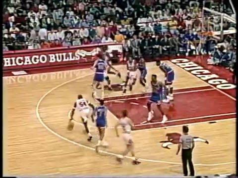 1991 Bulls vs Knicks game 2 highlights