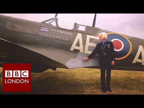 The last surviving female pilot from World War II