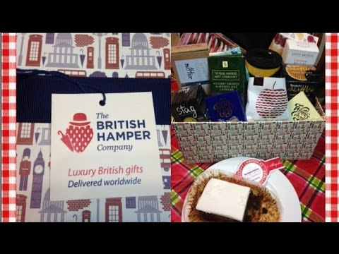 Happy Christmas Hamper Unboxing ~ British Hamper Company