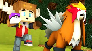 CATCHING ENTEI IN POKEMON GO! (Minecraft Roleplay)