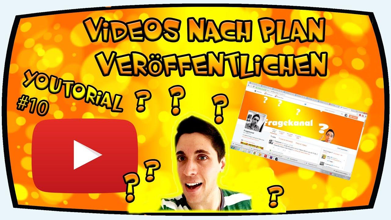 Youtube Video Veröffentlichen