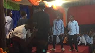 I just made it fun at BULAMU COLLEGE SCHOOL, How I love Students!!! #Yimba Novic Music