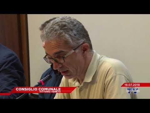 CONSIGLIO COMUNALE VITTORIO VENETO - Seduta del 19.07.2018