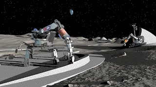 ∆ 3D Printing a Moon Base