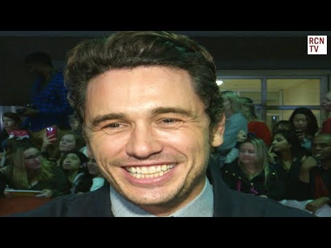 James Franco Interview The Disaster Artist Premiere