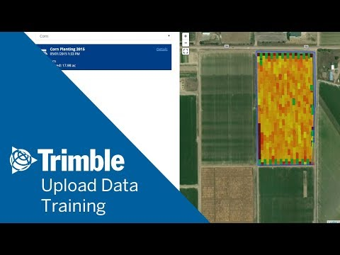 How To Upload Data And Verify Tasks | Online Training | Trimble Ag Software