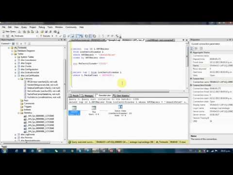 Optimizacion SQL