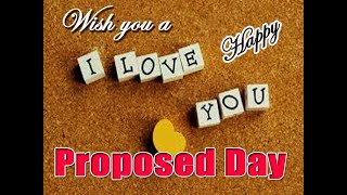 Happy Propose Day 2020 l I Love you Status | Propose Day ...