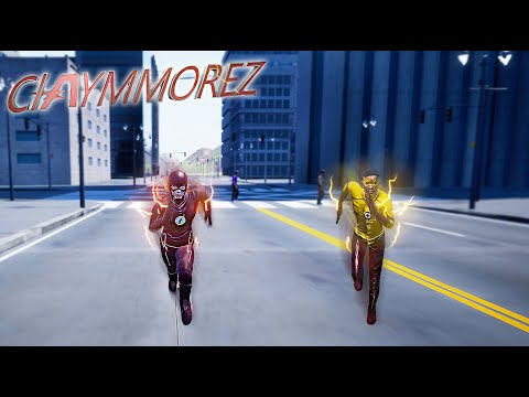 THE FLASH VS KID FLASH RACE! Who Is The Fastest Man Alive?(Crisis On Earth One Gameplay)