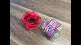 DIY Armbänder/Armreifen aus Holzstäbchen selber machen, basteln mit und für Kinder