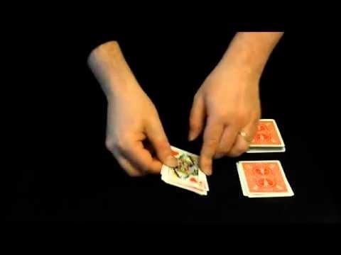 تعلم سحر تحويل ورقة الكوتشينة وهى فى يد الضحية | ألعاب الخفة