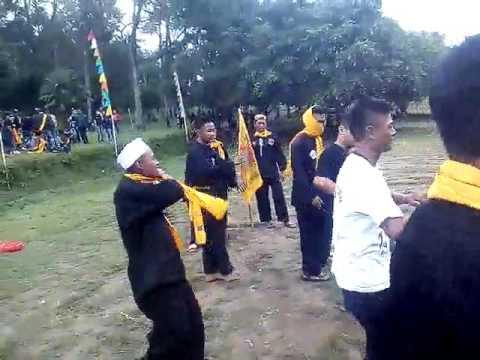 Joget komando PSHW / STK BOYOLALI acara HBH STK CABANG KARANGANYAR