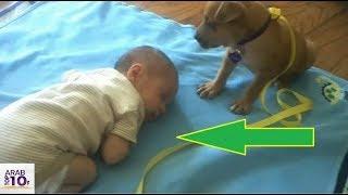 خلد إبنها الصغير الى النوم فوضعت كاميرا لمراقبته فما وجدته في التسجيل كان..!!