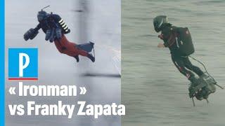 « Ironman » et son Jet Suit est-il plus fort que Franky Zapata et son Flyboard Air ?