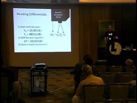Layerone 2013 - Differential Cryptanalysis for Dummies - Jon King