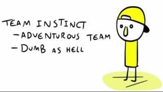 Comic Dub: Pokemon Go Teams
