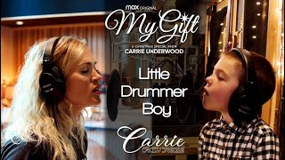 Carrie Underwood ft. Isaiah Fisher - Little Drummer Boy   HBO Max