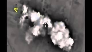 Ночная бомбардировка ВВС России позиций ИГИЛ