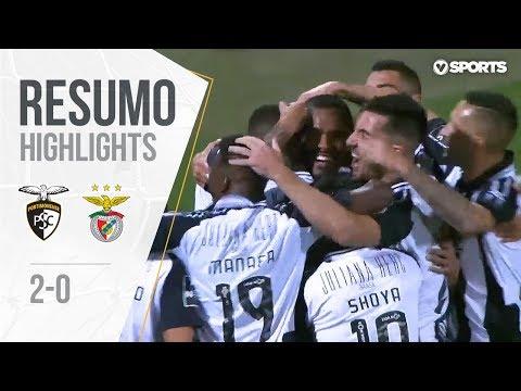 Highlights | Resumo: Portimonense 2-0 Benfica (Liga 18/19 #15)