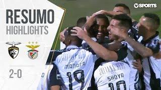 Highlights   Resumo: Portimonense 2-0 Benfica (Liga 18/19 #15)