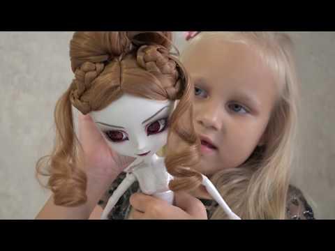 Алиса получила ПОСЫЛКУ с куклой !!!