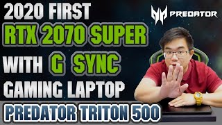 2020 Years First Nvidia GeForce RTX™ 2070 Super with G-SYNC Laptop