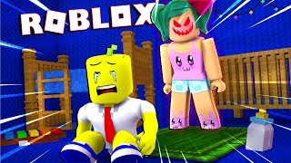 ESCAPE THE CRAZY NANNY AT ROBLOX