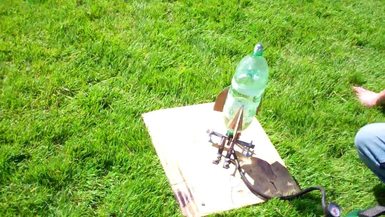 Bottle Rocket Design And Launch 260 Feet Into The Air