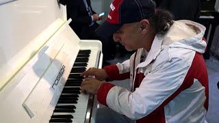Пианино ПОБЕДА с двойной репетицией. Гара Акопян