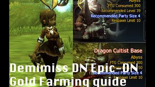 Dragon nest private server Epic-DN Gold Farming guide