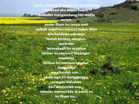 Kau Ilhamku  with lyric - Man Bai