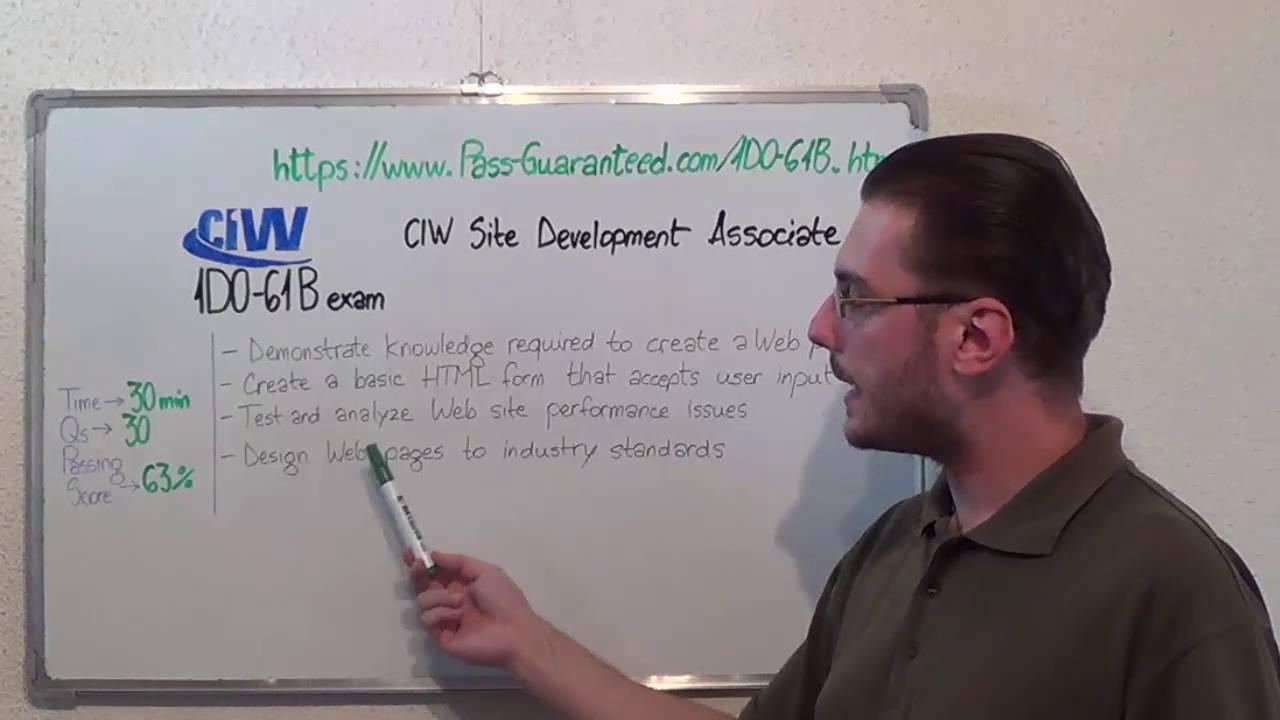 1d0 61b ciw exam site development test associate questions youtube 1d0 61b ciw exam site development test associate questions 1betcityfo Images