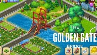 TOWNSHIP GAME GOLDEN GATE BRIDGE